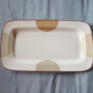 "Noritake ambience, relish tray 9x5"""